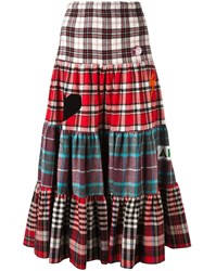 Sold Out Frvr Checked Maxi Skirt