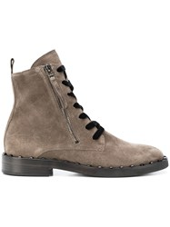 Kennel Schmenger And Piombo Hiking Boots Brown