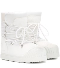 Moncler X Moon Boot Uranus Ankle Boots White