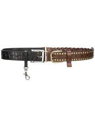 Y Project Double Belt Brown