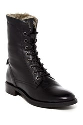 Seychelles Geode Faux Fur Lined Lace Up Boot Black