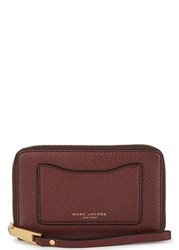 Marc Jacobs Recruit Burgundy Leather Wallet