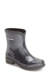 Havaianas Women's 'Galochas Low Metallic' Waterproof Rain Boot Dark Grey Metallic