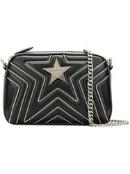 Stella Mccartney Star Mini Crossbody Bag Black