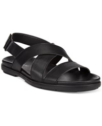 Alfani Men's Surf Slingback Sandals Only At Macy's Men's Shoes Black