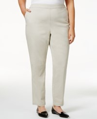 Karen Scott Plus Size Pull On Pants Only At Macy's Stonewall