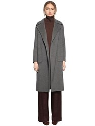 Larusmiani Belted Double Wool Coat
