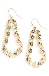 St. John Women's Collection Swarovski Crystal Shimmer Leaf Earrings