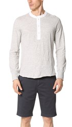 Todd Snyder Classic Chambray Henley Oatmeal