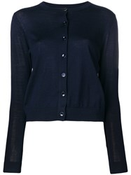 Paul Smith Ps By Simple Cardigan Blue