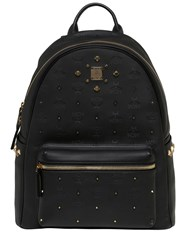 Mcm Medium Stark Odeon Faux Leather Backpack