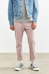Urban Outfitters Uo Easton Skinny Stretch Chino Pant Blush