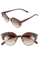 A. J. Morgan Women's A.J. Temple 50Mm Sunglasses Matte Tort