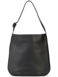 Shinola Open Top Shoulder Bag Black