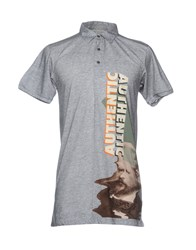 John Galliano Polo Shirts Grey