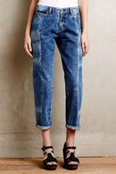 Anthropologie Mih Phoebe Straight Jeans Fold Wash 27 Denim