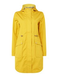 Joules Waterproof Gooded Parka Antique Gold