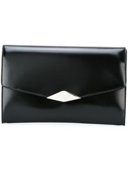 Rochas Medium 'Palais Royal' Clutch Black