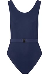 Fella Toto Belted Swimsuit Midnight Blue