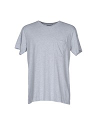 Nineminutes T Shirts Light Grey