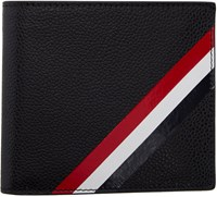 Thom Browne Black Diagonal Stripe Wallet