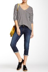 Kut From The Kloth Bogart Slim Cropped Jean Petite Blue