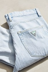 Guess 1981 High Rise Slim Jean Vintage Denim Light