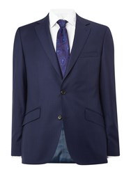 Simon Carter Sharkskin Jacket Bright Blue