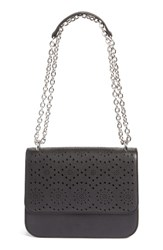 Chelsea 28 Chelsea28 Dahlia Perforated Faux Leather Shoulder Bag