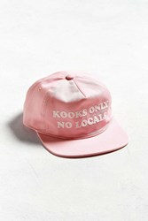 Coal The Kooks Baseball Hat Pink