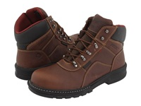 Wolverine Meteor 6 Waterproof Steel Toe Brown Men's Work Lace Up Boots