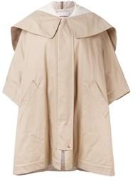 See By Chloe Oversized Padded Parka Nude And Neutrals