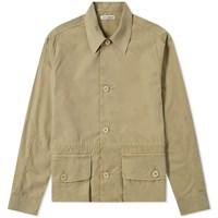 Our Legacy Puff Pocket Shirt Jacket Green