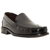 Bertie Royce College Hi Shine Leather Loafers Black