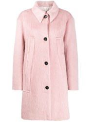 Rochas Textured Single Breasted Coat 60