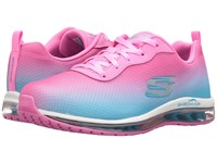 Skechers Ombre Mesh Lace Up W Air Cool Pink Women's Shoes