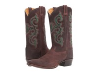 Old West Boots 5501 Red Brown Cowboy Mahogany