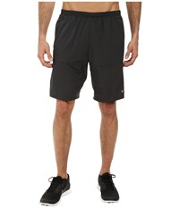 Nike 9 Distance Short Anthracite Anthracite Reflective Silver Men's Shorts Black