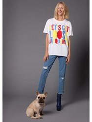 House Of Holland 10Th Anniversary Jacquemus T Shirt White