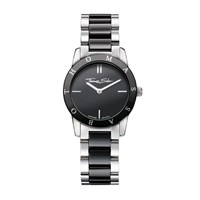Thomas Sabo Classic Stainless Steel And Black Ceramic Watch