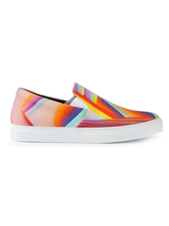 Christopher Kane Pages Print Sneakers