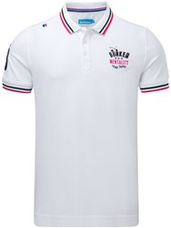 Bunker Mentality Core Applique Polo White