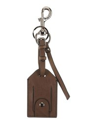 Dolce And Gabbana Small Leather Goods Key Rings Men Khaki