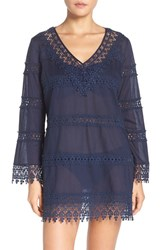 Tory Burch Women's Crochet Lace Cover Up Dress