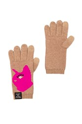 Marc By Marc Jacobs Rue Gloves Beige