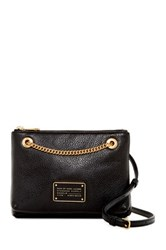 Marc By Marc Jacobs Doubledecker Leather Crossbody Black