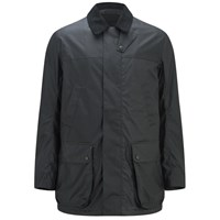 Knutsford Men's 'Made In England' Dry Waxed Shooting Jacket Black