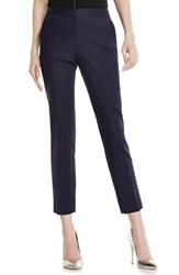 Women's Vince Camuto Zip Front Ankle Pants Evening Navy