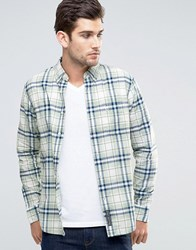 Abercrombie And Fitch Plaid Shirt Madras Mint In Muscle Slim Fit Mint Plaid Green