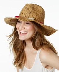 Inc International Concepts Beaded Tassel Sun Hat Only At Macy's Natural Pink